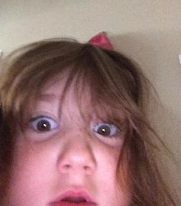 A five year old can take a selfie.