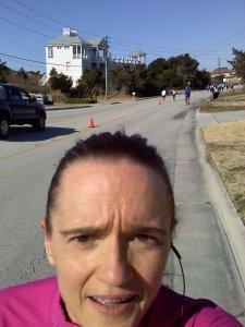 The first half-marathon